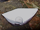 Paper boat with candle