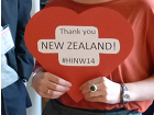 A Valentine's heart for the New Zealand Embassy
