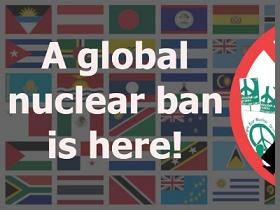 A global nuclear ban is here